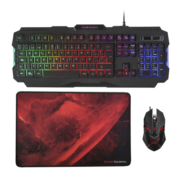 MCP118 RGB gaming combo