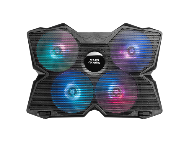 LED RGB cooling fans